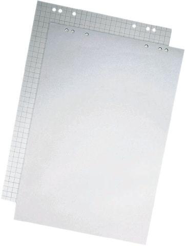 Flipchartblock, kariert/blanko, 68x99cm, RC, hellgrau, 20 Blatt