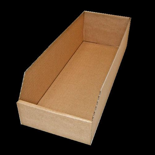 10 Stück: 400x150x100 mm Regalkarton (Außenmaß)