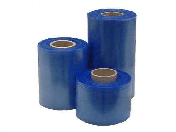Schlauchfolie 100 x 0,10 mm / 100 m blau