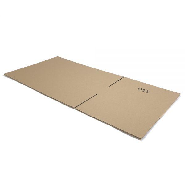 10 Stück: 750x430x130 mm einwellige Kartons