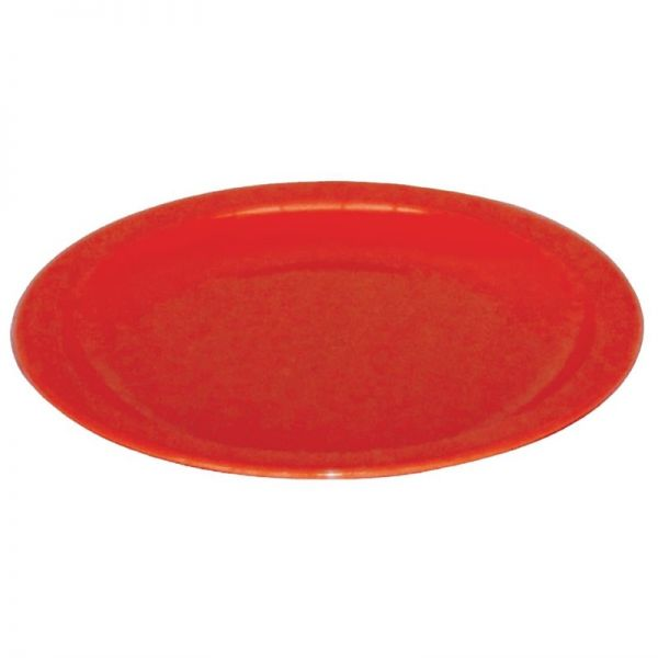 Kristallon Teller rot 23cm; Inhalt: 12 Stück