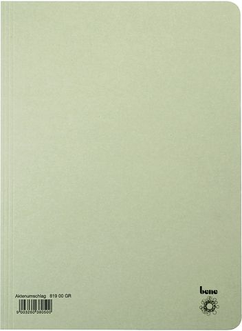 Aktendeckel, Karton (RC), 250 g/m², A4, 23,5 x 32 cm, grau