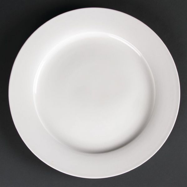 Lumina runde Teller mit breitem Rand 30,5cm; Inhalt: 2 Stück