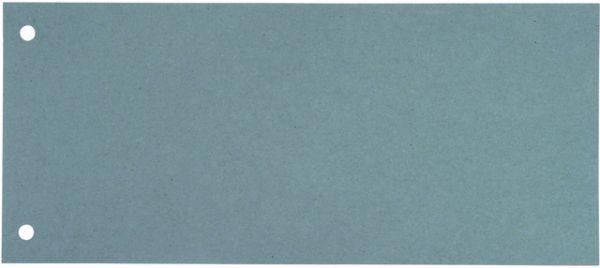 Trennstreifen, Karton (RC), 190 g/m², 24 x 10,5 cm, blau