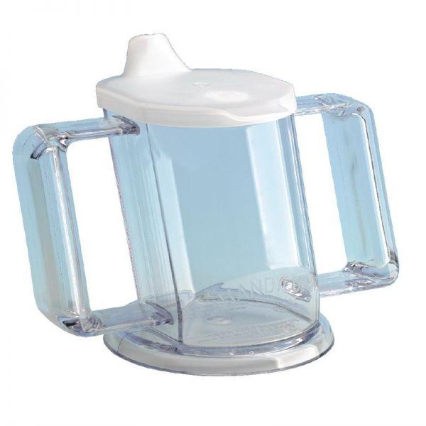 Praktischer Schnabelbecher transparent 20cl