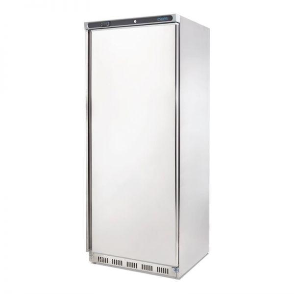Polar Kühlschrank Edelstahl für leichte Nutzung 600L