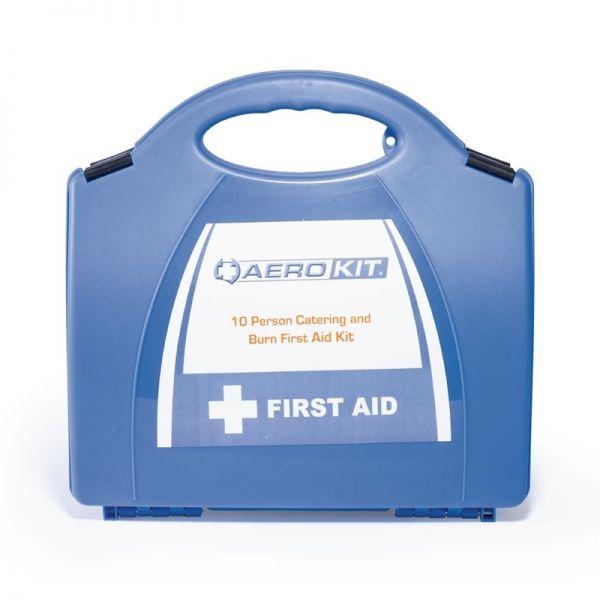 Erste-Hilfe-Kasten und Brandwundenset klein
