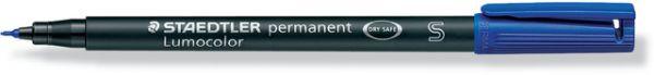 OH-Stift, Lumocolor® 313, S, perm., Rsp., 0,4 mm, Schreibf.: blau