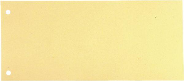 Trennstreifen, Karton (RC), 190 g/m², 24 x 10,5 cm, beige
