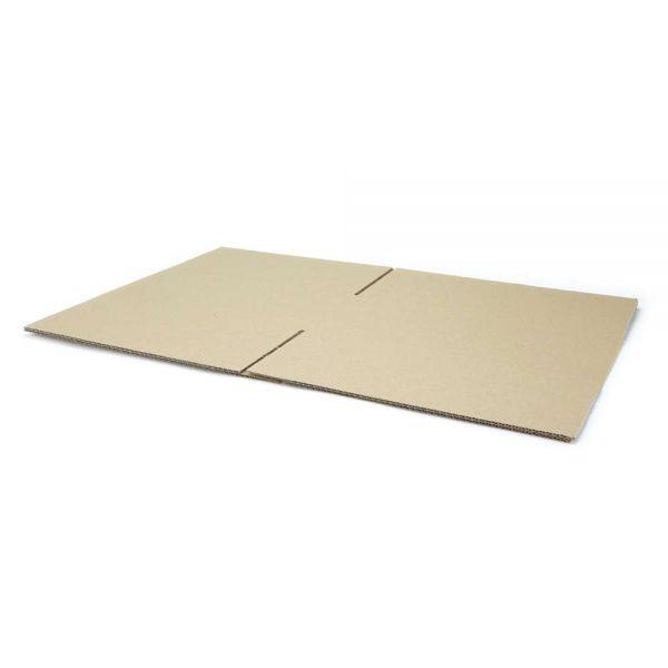 20 Stück: 350x300x150 mm einwellige Kartons