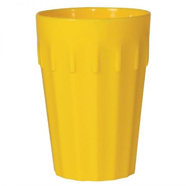 Kristallon Becher gelb 14,2cl