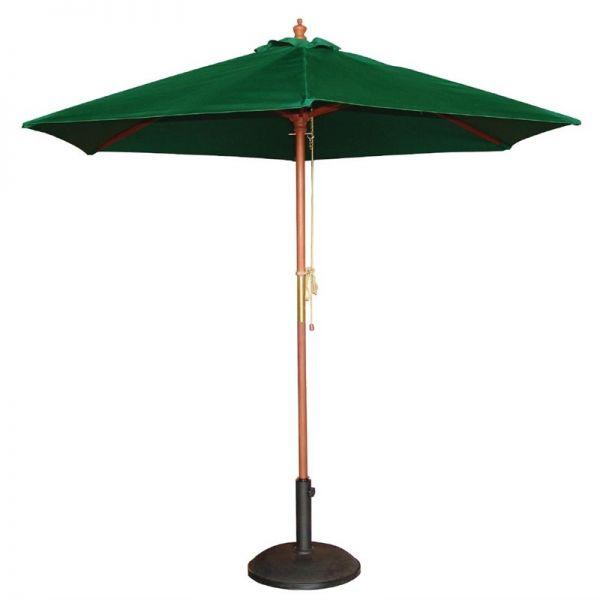 Bolero runder Sonnenschirm grün 3m