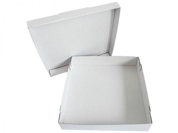 50 Stück: 320x320x120 mm Tortenkarton