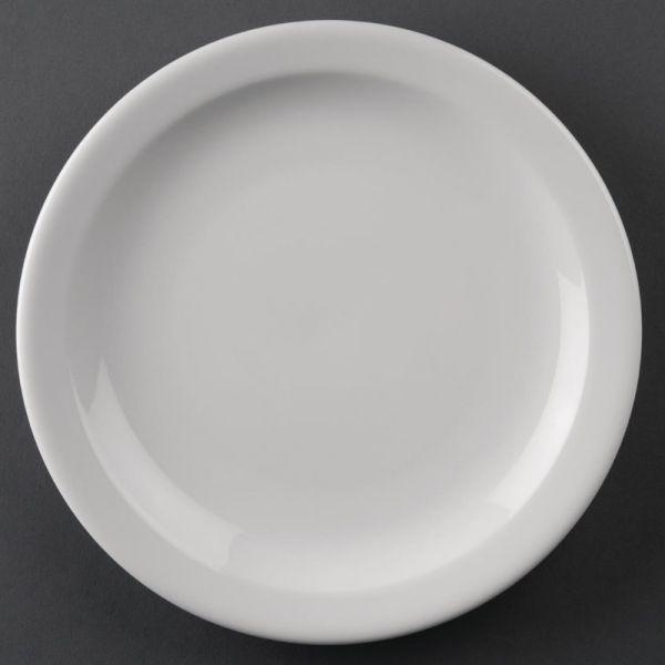 Athena Hotelware runde Teller mit schmalem Rand 20,5cm; Inhalt: 12 Stück