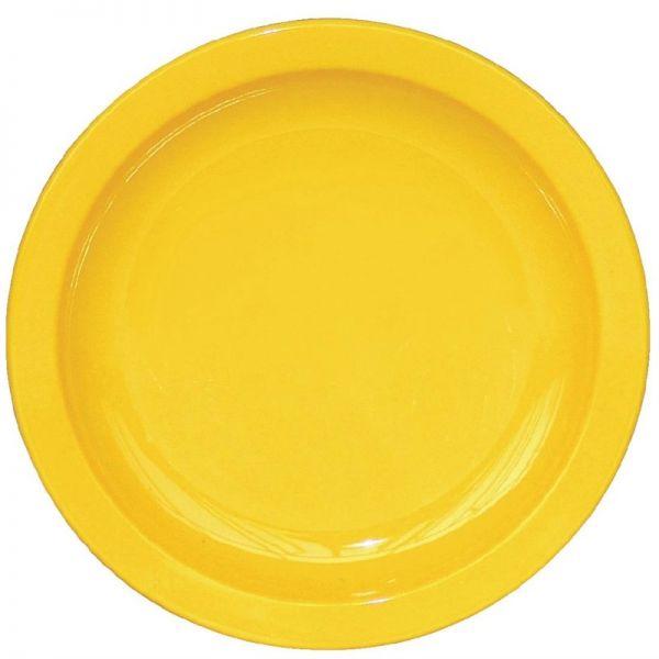 Kristallon Teller gelb 17,2cm; Inhalt: 12 Stück