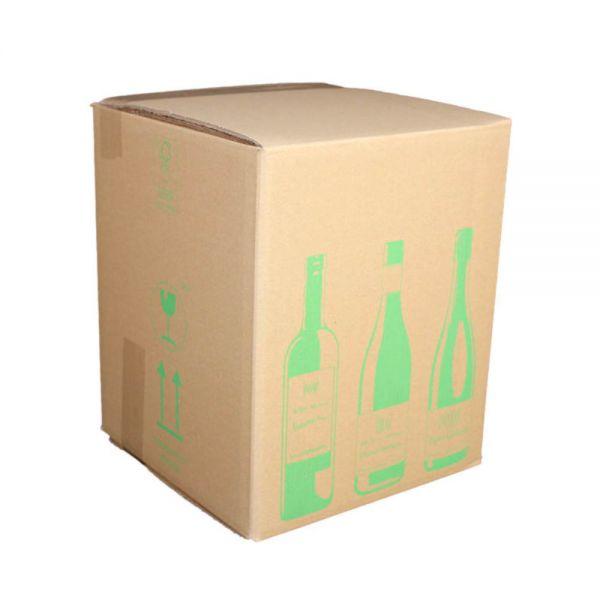 300 Stück: 316x305x368 mm 9er Flaschenkarton ECOLINE