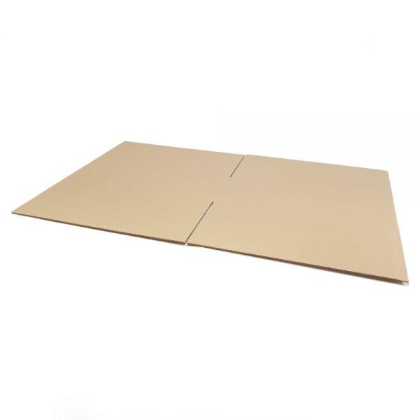 5 Stück: 580x580x250 mm einwellige Kartons