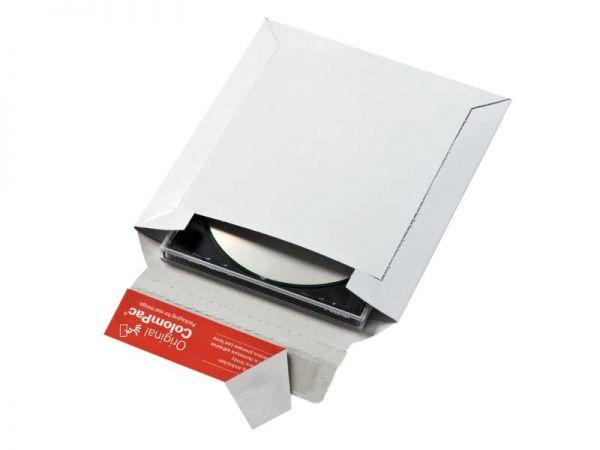 100 Stück: 175x160x0-20 mm CD-Verpackung, weiß