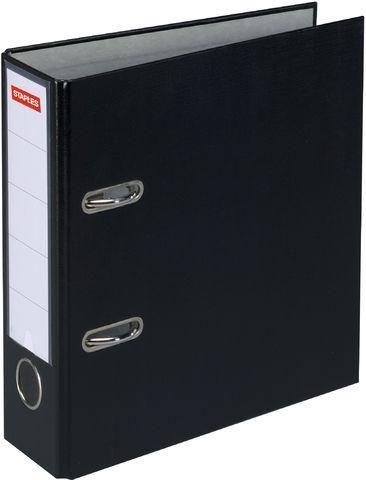 Ordner Color, PP, Einsteckrückenschild, A4, 80 mm, schwarz