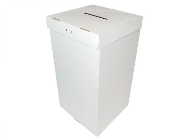 305x295x550 mm Wahlurne weiß (Außenmaß)