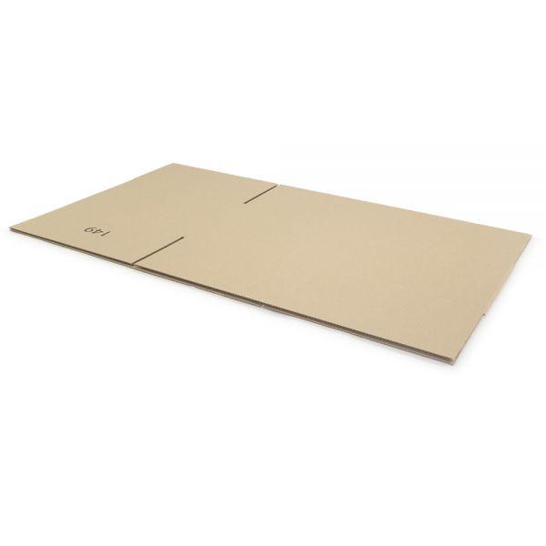 10 Stück: 700x380x250 mm einwellige Kartons