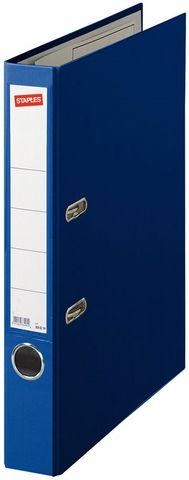 Ordner Color, PP, Einsteckrückenschild, A4, 50 mm, blau