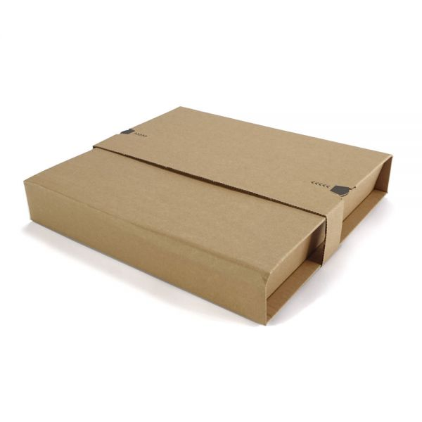 20 Stück: 320x320x0-55 mm LP-Versandverpackung
