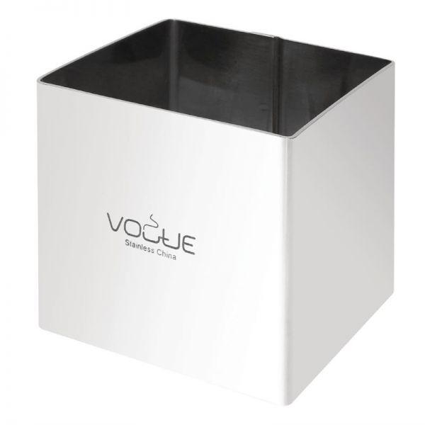 Vogue quadratischer Moussering 6cm extra tief