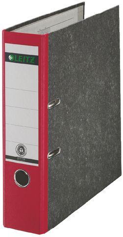 Ordner Standard, Karton (RC), A4, 80 mm, 28,5x31,8cm, rot