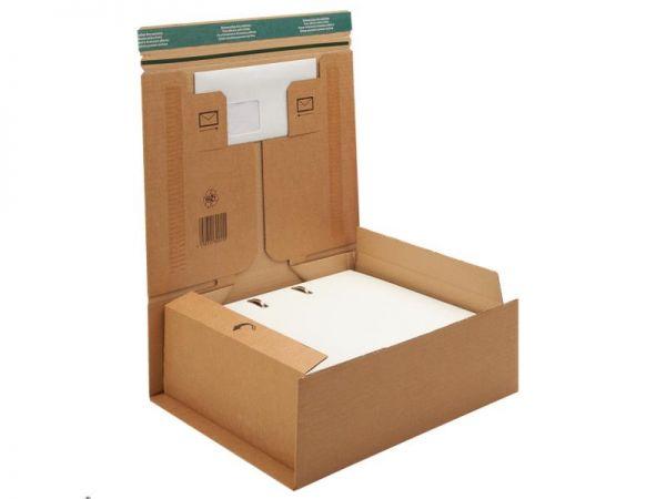 20 Stück: 330x290x120 mm Ordner-Verpackung
