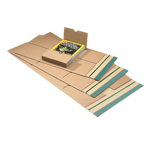 20 Stück: 350x320x0-80 mm Buchverpackung Ordner