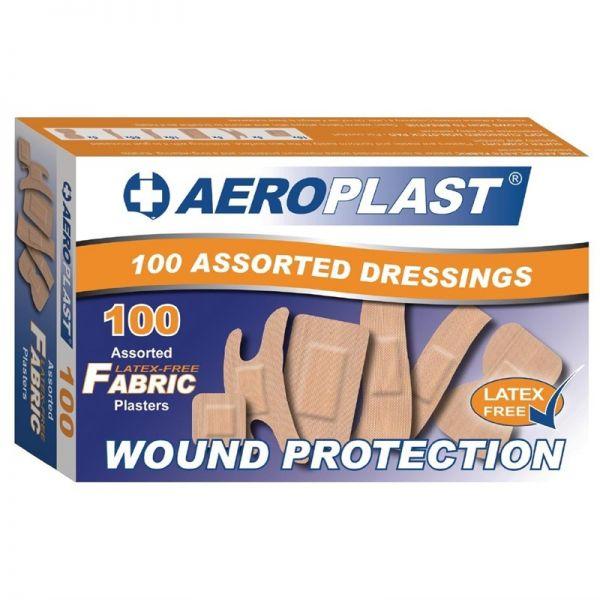 Aeroplast latexfreie Pflaster; Inhalt: 100 Stück