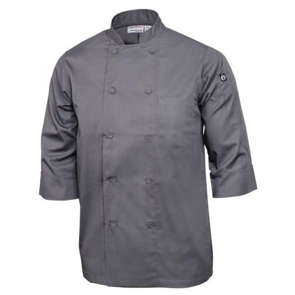 Chef Works Unisex Kochjacke grau XS