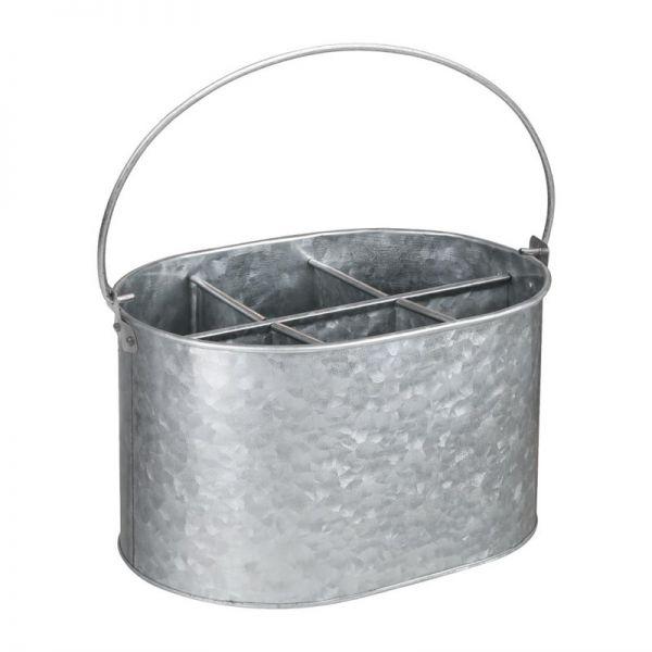 Olympia Table Caddy aus verzinktem Stahl