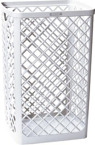 Abfalleimer, ohne Deckel, 40 l, 320x265x500mm, weiß