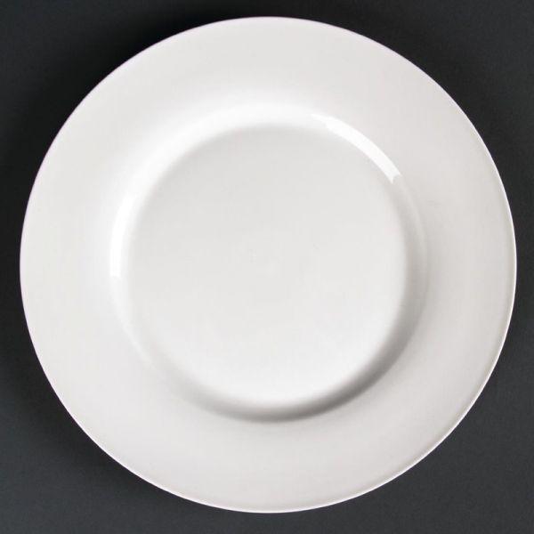 Lumina runde Teller mit breitem Rand 23cm; Inhalt: 6 Stück