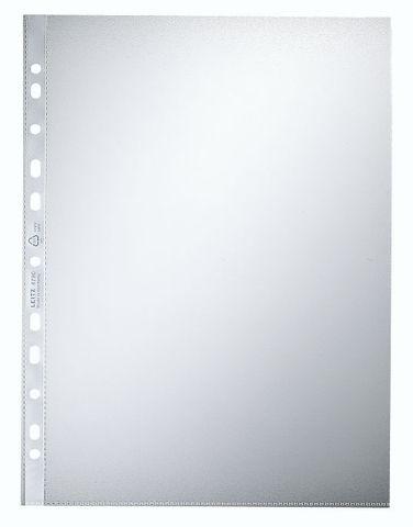 Prospekthülle, PP, A4, 0,09 mm, farblos, genarbt