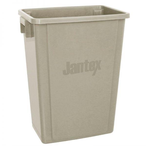 Jantex Recycling-Mülleimer beige 56L