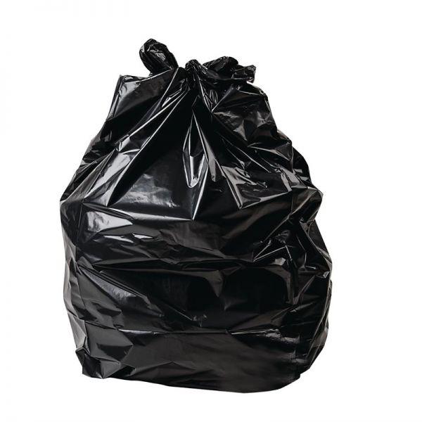 Jantex schwerbelastbare Müllbeutel schwarz 120L; Inhalt: 100 Stück