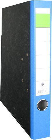 Ordner, Wolkenmarm.(RC), SK-Rü.sch., m.Griffloch, A4, 50mm, blau