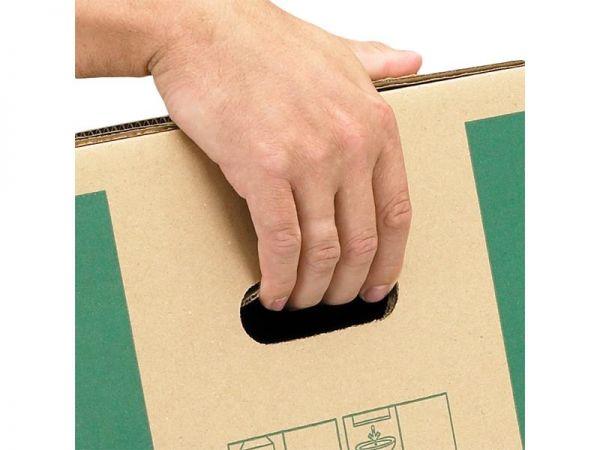 5 Stück: 560x293x330 mm Bücher-Transportbox