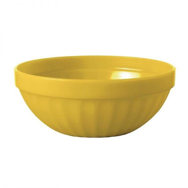 Kristallon Obstschalen gelb 10,2cm; Inhalt: 12 Stück