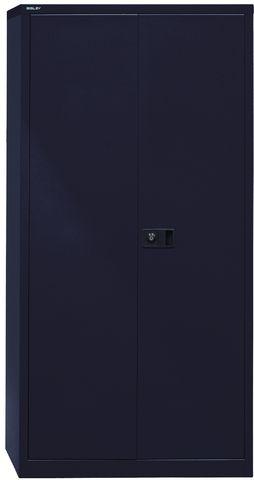 Akten-/Garderobenschrank Universal, 5 Ordnerhöhen, schwarz